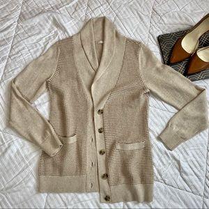 Banana Republic Cardigan Wool/Cotton Size M
